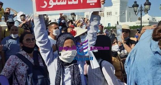 وقفة احتجاجية لاصحاب الشهائد العليا امام مقر الحكومة | وقفة احتجاجية