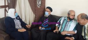 القمص بطرس يهنىء ماضى برئاسة مدينة دسوق | القمص بطرس