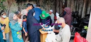 استمرار حملتي 100 مليون صحة وحياة كريمة بقرى كفر الشيخ | حياة كريمة