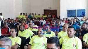 بالصور فعاليات الدورة التدريبية الدولية للمينى فوتبول للمدربين والإدرايين والحكام | فعاليات الدورة