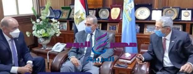 محافظ كفر الشيخ.. يناقش خطة تطوير بحيرة البرلس.