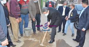 محافظ الغربية يطلق اسم الشهيد أحمد الرفاعي على شارع توت عنخ أمون بطنطا