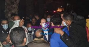 وكان بصحبته رئيس مجلس مدينه البدرشين الأستاذ محمود شنب