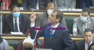 كلمة النائب عبد المنعم داوود التى أدت إلى طرده من الجلسه العامه بالبرلمان   النائب