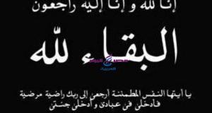 تتقدم جريدة مصر اليوم العربية ببالغ الحزن والأسى للعزاء لمدير مكتب محافظة الدقهلية في وفاة شقيقتة