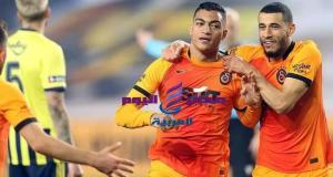 مصطفى محمد يقود جالطة سراي لصدراة الدوري التركي