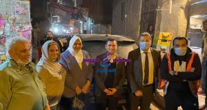 عقب زيارة الرئيس السيسي شكري يزور منطقة عزبة الهجانة ويؤكد دعم الرئيس السيسي لمحاربة العشوائيات