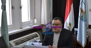 الدكتور هشام جابر خلال مجلس الدراسات العليا بجامعة الإسكندرية