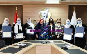 المجلس القومي للمرأة يُكرِّم الواعظات المشاراكات بقافلة الأوقاف الدعوية بدولة السودان الشقيقة | المجلس القومي