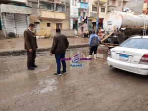 محافظ الدقهلية يتابع أعمال كسح مياه الامطار بعدد من المراكز والمدن | يتابع