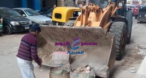 جيهان مسعود تشدد بضرورة المتابعة الاسبوعية لسوق الاحد بمنطقة خورشيد بالأسكندرية