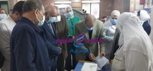 رئيس الطب الوقائى بالوزارة يتابع الحملة القومية لتطعيم شلل الأطفال بالغربيه
