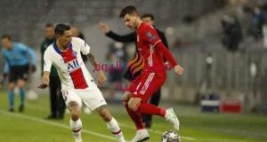 سان جيرمان يفوز على بايرن ميونخ بثلاثة أهداف مقابل هدفين.   سان