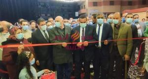 هشام آمنة.. يفتتح معرض اهلا رمضان للسلع الغذائية والرمضانية بايتاى البارود .   هشام