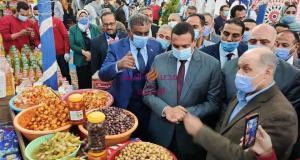 اللواء/ هشام آمنة يفتتح معرض اهلا رمضان للسلع الغذائية والرمضانية بابو حمص   اللواء