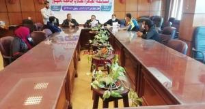 جامعة دمنهور تنظم مسابقة العباقرة لطلاب جامعة دمنهور | جامعة
