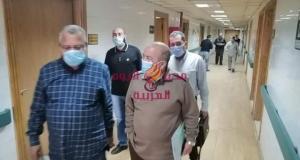 لجان المرور تتفقد إجراءات مواجهة كورونا بمستشفى كفر الزيات بالغربية | لجان