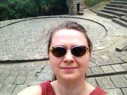 By the way the fortress has a small amphitheater and every summer there are concerts and sometimes plays are being performed. It's really a thrilling experience to be there, and here I am thrilled behind my shades, can't you see? --- Love from the old city! ege.