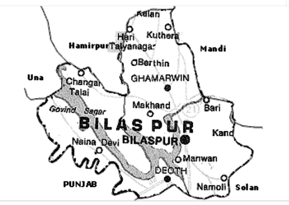 Read more about the article Brief Geography of District Bilaspur – HP