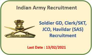 Read more about the article Army recruitment Rally at Una (HP) – Apply Now
