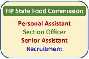 HP State Food Commission Recruitment 2021 : Apply Now