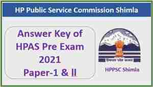 Read more about the article HPPSC HPAS Pre Exam 2021 Official Answer Key