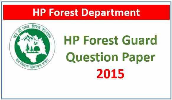 Read more about the article HP Forest Guard Previous Year Question Paper 2015