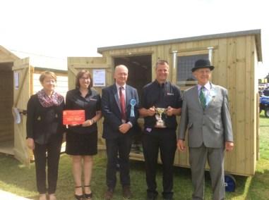Gillingham Show winners