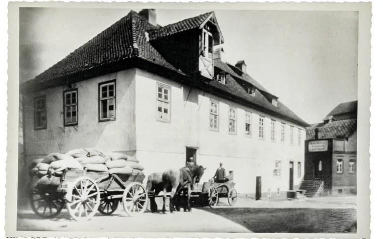 Historische Mühle 1914