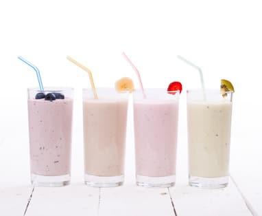 Total protein milk shake