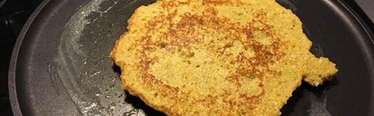 crêpe aux flocons de quinoa