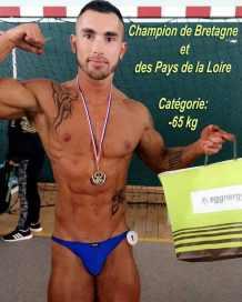 Le 16 avril 2017, à Plancoët, Nicobzh est champion de Bretagne et Pays de la Loire en catégorie -65 kg (LRCPCN)