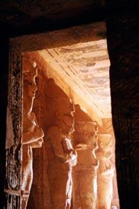 Temple of Queen Nefertari 內部。