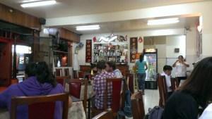 在納斯卡的中菜館「南國飯店」。