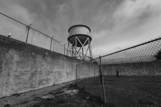 Recreation Yard & Water Tower