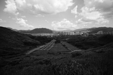天平山越野單車場 + 解放軍練靶場。
