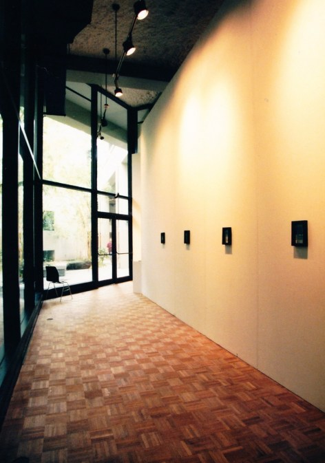 Inside the gallery