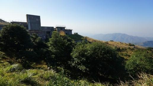 大帽山廢棄軍營。
