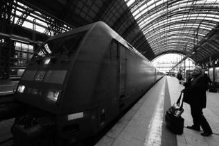 法蘭克福火車總站。