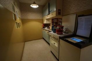 東德家庭的廚房。