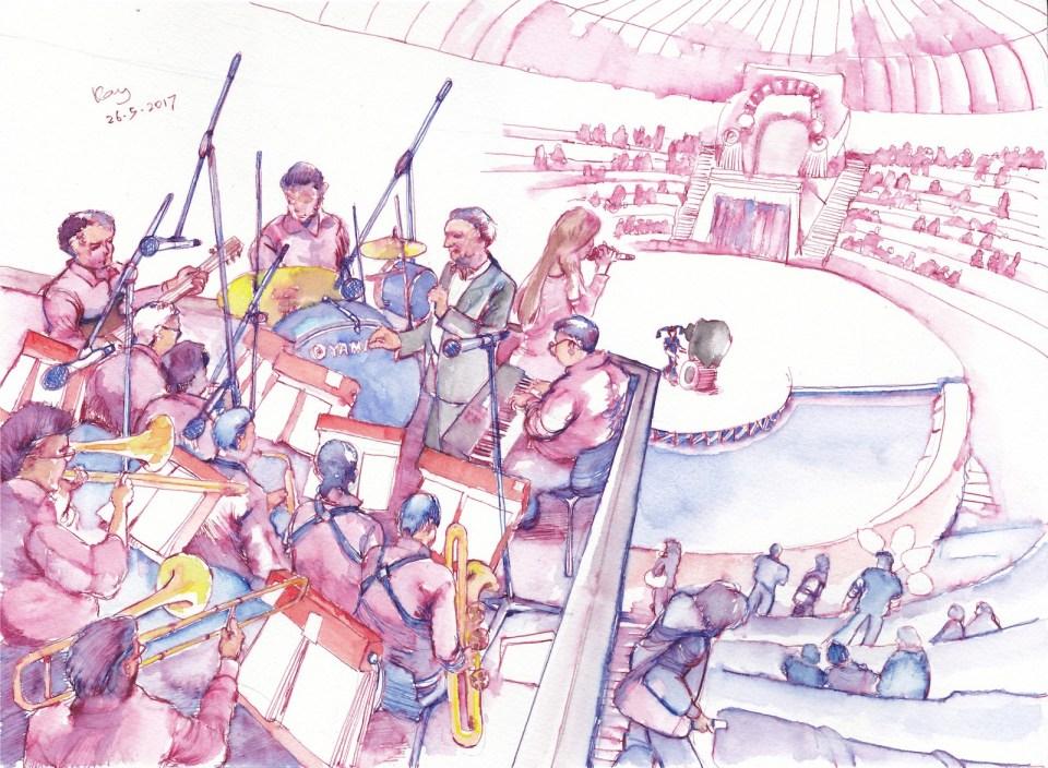 馬戲團的交響樂團。