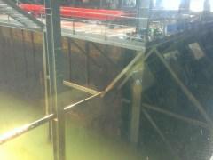 盛載南海一號的鋼鐵沉箱。