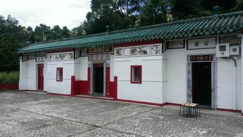 坪輋天后廟。
