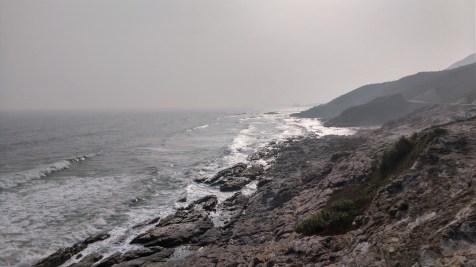 巽寮東岸的石灘。