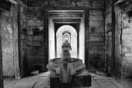 Pashupatinath 火葬場內佛塔。