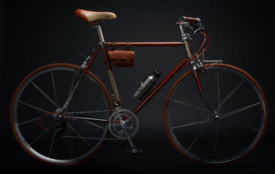 繪畫 + 拍攝 . 復古鋼管單車