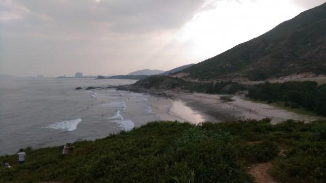 巽寮東北岸之越野山路。