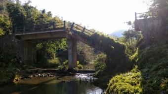 馬牯坳的斷橋。
