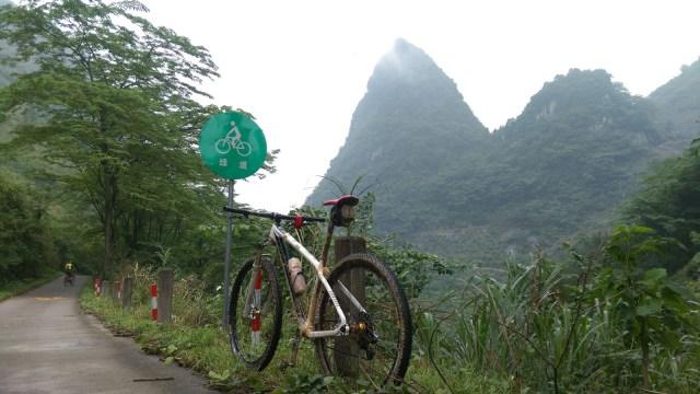 深山中有綠道?查看地圖,原來是清遠綠道其中一段。