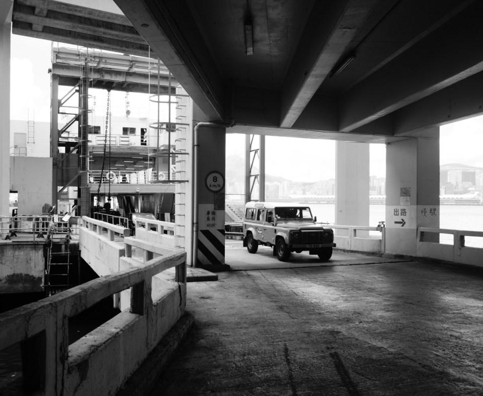 現時該碼頭用作予危險品車輛過海之用。